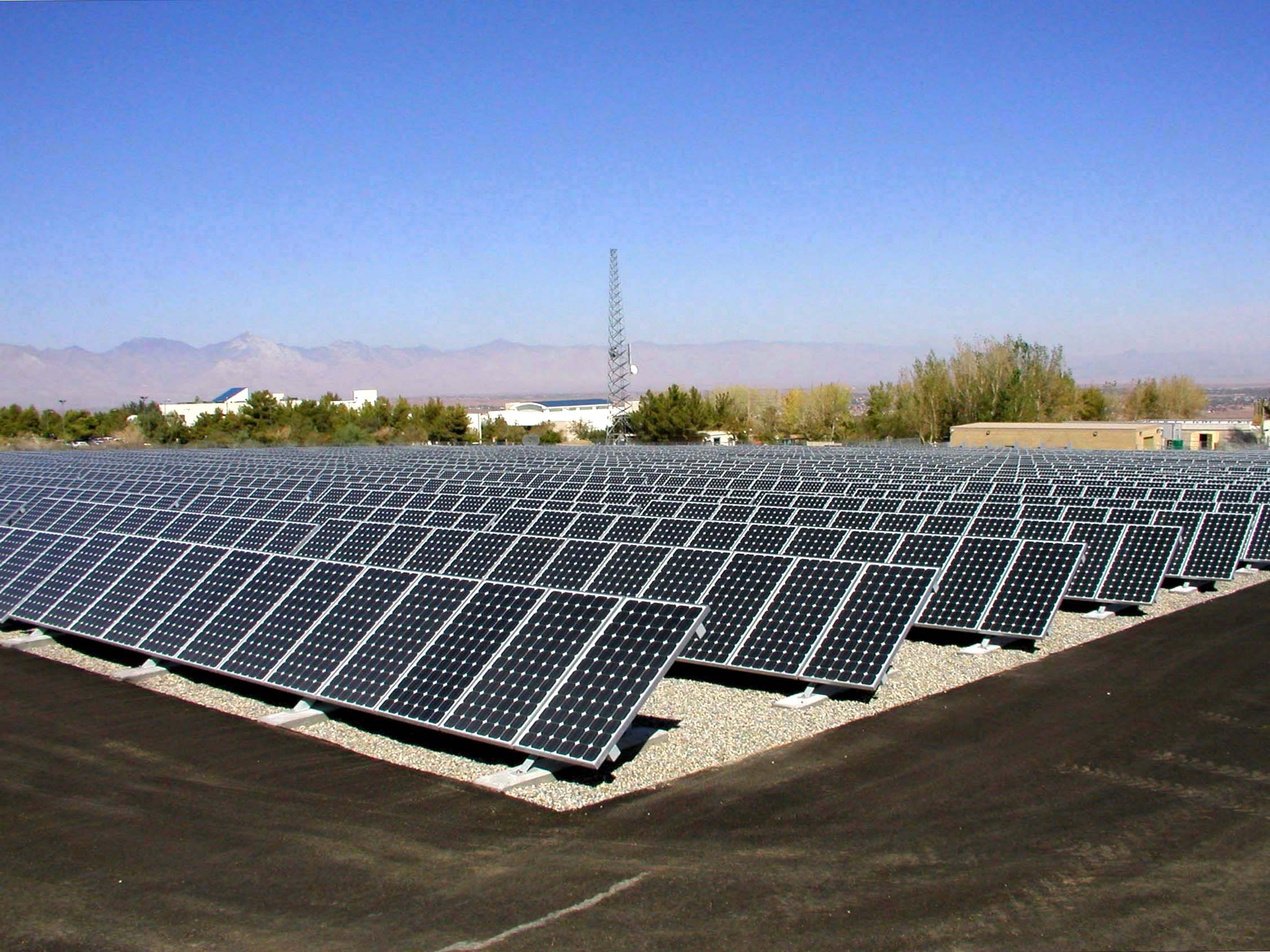 Finance & Construction of a 3 MW Solar Farm in Kheirabad Industrial Complex, Arak